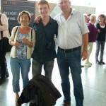 Familienfoto zum Abschied