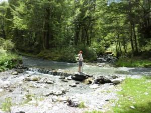 Flussdurchquerung